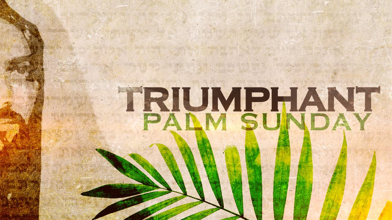 Church Video Illustration Triumphant Palm Sunday
