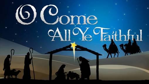Church PowerPoint Template: O Come All Ye Faithful with Lyrics - SermonCentral.com