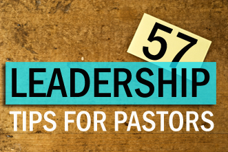 View article 57 Leadership Tips For Pastors