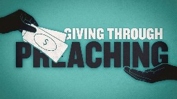 View article Catalyze Giving Through Your Preaching