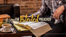 View article The Patented Preacher