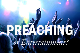 View article John Piper: Bible-Oriented Preaching Or Entertainment?