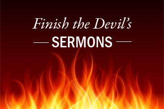 View article Steven Furtick: Finish The Devil's Sermons
