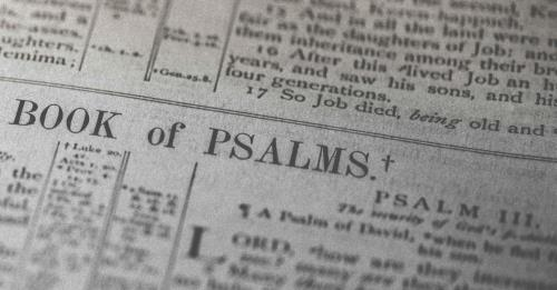 View article 5 Reasons Why I Love Preaching Psalms