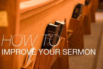 View article Five Ways To Improve Your Sermons