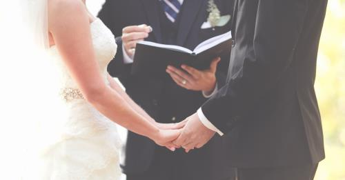 View article Preaching The Truth At Weddings