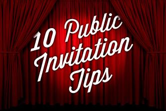 View article 10 Must-Have Tips For Giving A Public Invitation
