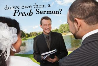 View article Do We Owe Every Wedding Ceremony A Fresh Sermon?