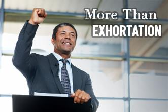 View article Preaching Is More Than Exhortation