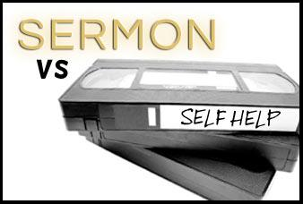 View article How Does A Sermon Differ From A Self-Help Video?