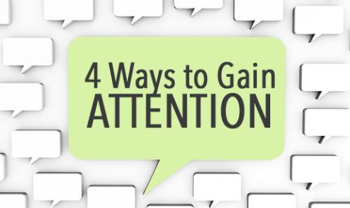 View article Preaching--4 Ways To Gain Attention And 3 Ways To Keep It!