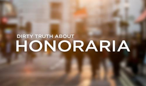 View article The Dirty Truth About Honoraria