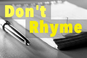 View article Why My Sermon Notes Don't Rhyme, And What I Do Instead