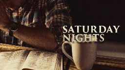View article Saturday Nights Are Not For Sermon Planning