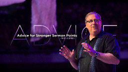 View article Rick Warren's Advice For Stronger Sermon Points