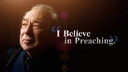 View article Why R.c. Sproul Still Declares: 'i Believe In Preaching'