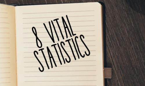 View article 8 Vital Statistics You Should Track Every Week