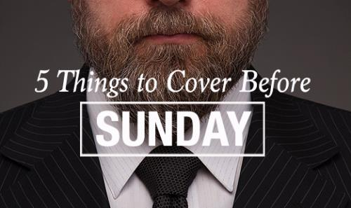 View article 5 Things Every Pastor Should Have In Check Before Sunday