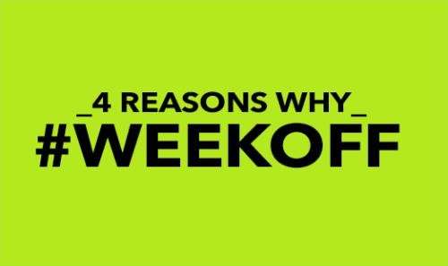 View article 4 Important Reasons To Give Yourself A Week Off