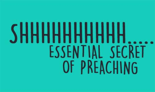 View article From Desiring God Ministries: The Essential Secret Of Preaching