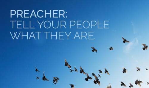 View article Preacher: Tell Your People What They Are!