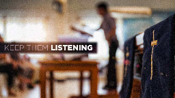 View article 7 Ways To Keep Teenagers Listening To Your Sermons