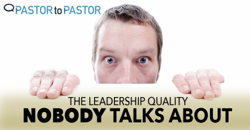 View article The Leadership Quality Nobody Talks About