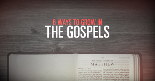 View article 6 Ways To Grow In The Gospels