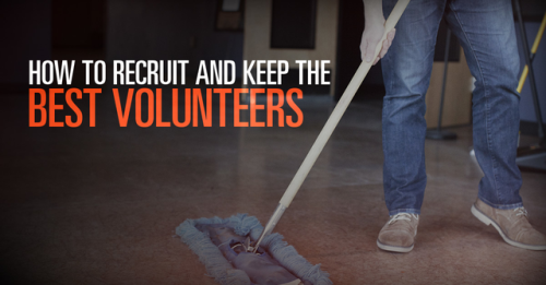 View article How To Recruit And Keep The Best Volunteers