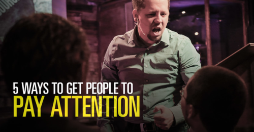 View article 5 Ways To Get People To Pay Attention To Your Sermons
