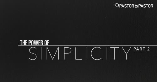 View article The Power Of Simplicity - Part 2