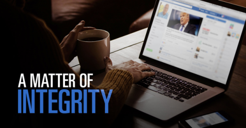 View article A Matter Of Integrity: Why Christians Must Stop Taking The Fake News Bait