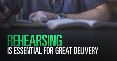 View article Preach What You Practice – Why Rehearsing Is Essential To Great Sermon Delivery