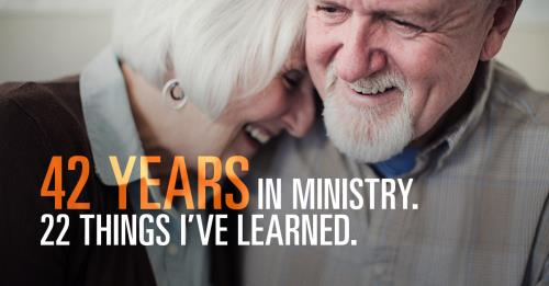 View article 22 Things Learned In 42 Years Of Ministry