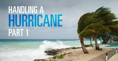 View article Handling A Hurricane… Part 1