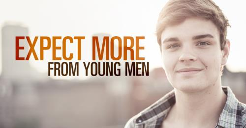 View article Expect More From Young Men