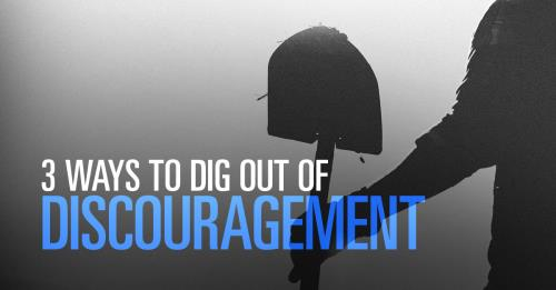 View article 3 Ways To Defeat Leadership Discouragement