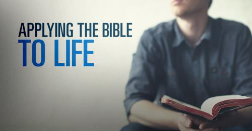 View article How To Apply The Bible