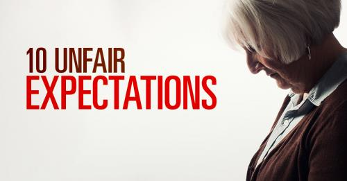 View article Ten Unfair Expectations Of Pastors' Wives