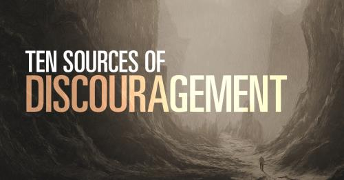 View article The Top Ten Sources Of Discouragement For Pastors