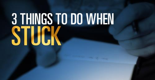 View article 3 Things To Do When You're Stuck In A Sermon Prep And Writing Rut