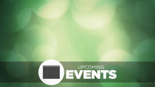 Motion Background on Spring Bokeh Events
