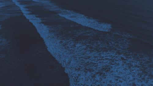 Motion Background on Oceans Angled Waves Blue Gradient