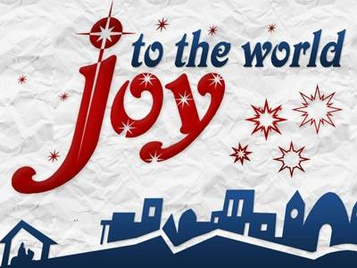 PowerPoint Template on Joy To The  World With  Lyrics