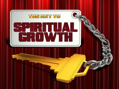 PowerPoint Template on Key To  Spiritual  Growth