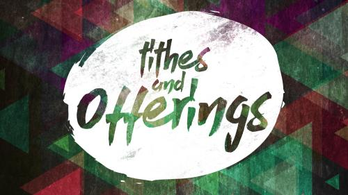Motion Background about tithes and offering - SermonCentral com