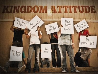 PowerPoint Template on Kingdom  Attitude