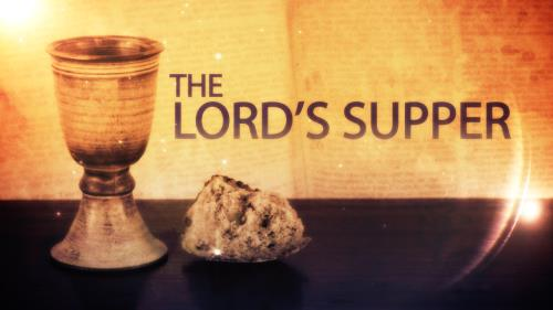Motion Background on The Lord's Supper Title