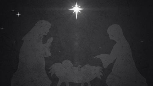 view the Motion Background Vintage Christmas Eve Manger 01