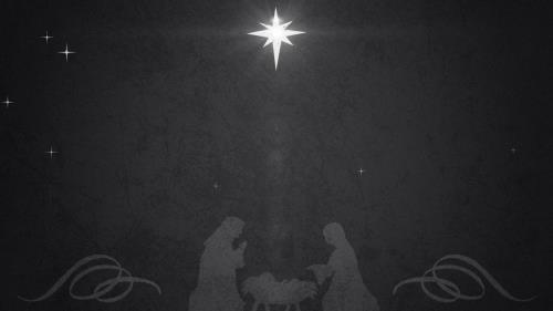 view the Motion Background Vintage Christmas Eve Manger 02